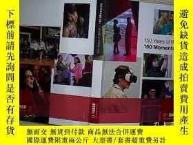 二手書博民逛書店150罕見YEARS OF BASF 150 MOMENTS.Y
