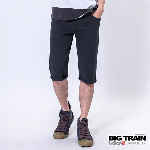 Big Train 舒活斜紋短褲-鐵灰-B5011385(領劵再折)