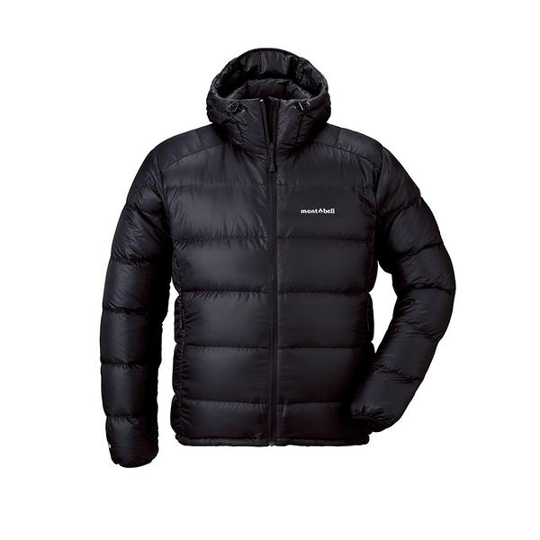 [mont-Bell] Men's Light Alpine 800FP 羽絨夾克外套/黑 (1101532BK) 秀山莊戶外用品旗艦店