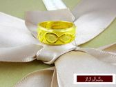 9999純金 黃金金飾 簡單素雅 黃金戒指