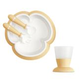 【奇哥】BABYBJORN 餐盤杯子禮盒-黃