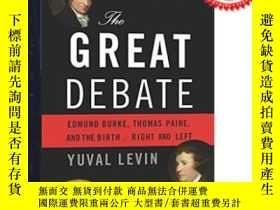 二手書博民逛書店偉大辯論英文原版小說激辯風雲The罕見Great Debate