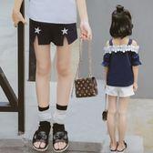 夏裝外穿短褲兒童熱褲女大童休閒褲韓版潮