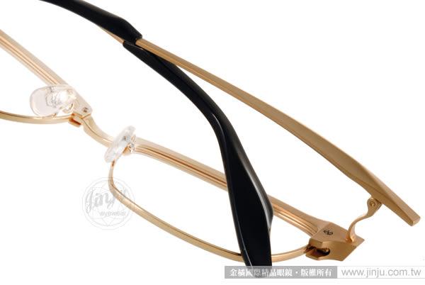 SPIVVY 光學眼鏡 SP1159 MYG (霧金-黑) 日本手工打造 質感半框 # 金橘眼鏡