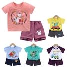 兒童短袖T恤 純棉男女童春夏款套裝 寶寶短袖短褲兩件套童裝 88330