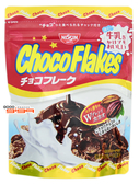 【吉嘉食品】日清 ChocoFlakes 巧克力風味玉米脆片 每包80公克,日本進口 [#1]{4901620125516}