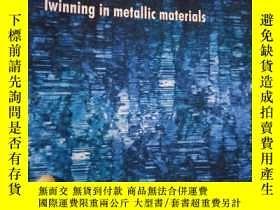 二手書博民逛書店MRS罕見BULLETIN Twinning in metall