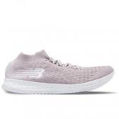 New Balance 女鞋 慢跑 輕量 緩震 針織 Fresh Foam 粉 白【運動世界】WZANSCS