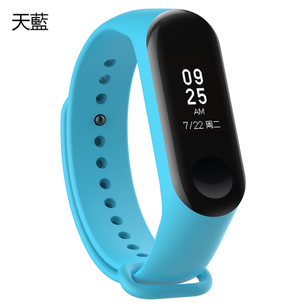 小米手環4 手錶錶帶 運動款錶帶 矽膠 矽膠錶帶 智慧錶帶 小米手環腕帶 腕帶 替換錶帶