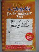 【書寶二手書T2/語言學習_KEO】Diary of a Wimpy Kid: Do-It-Yourself Book_