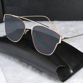 太陽眼鏡-偏光金屬質感復古風格男女墨鏡8色73en119[巴黎精品]