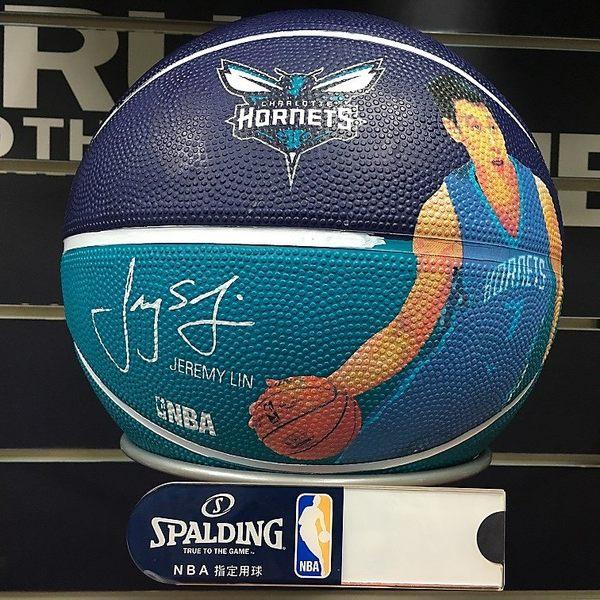 【線上體育】斯伯丁籃球16 黃蜂 林書豪JEREMY SPA83388