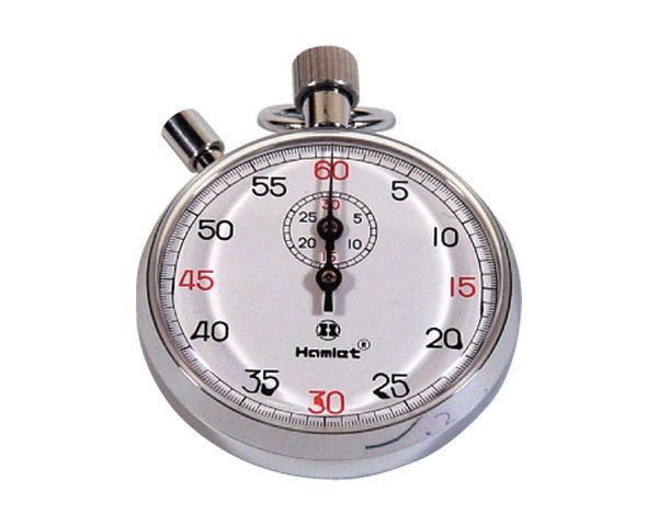 金屬機械碼錶 1/5秒精度 不需電池