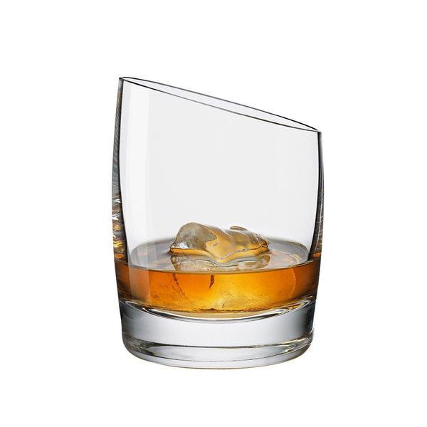 丹麥 Eva Solo Whisky Wine Glass 威士忌 斜角 玻璃酒杯