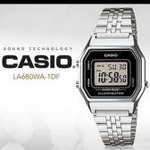 CASIO LA680WA-1 耀眼風格數字腕錶 LA-680WA-1DF 熱賣中!
