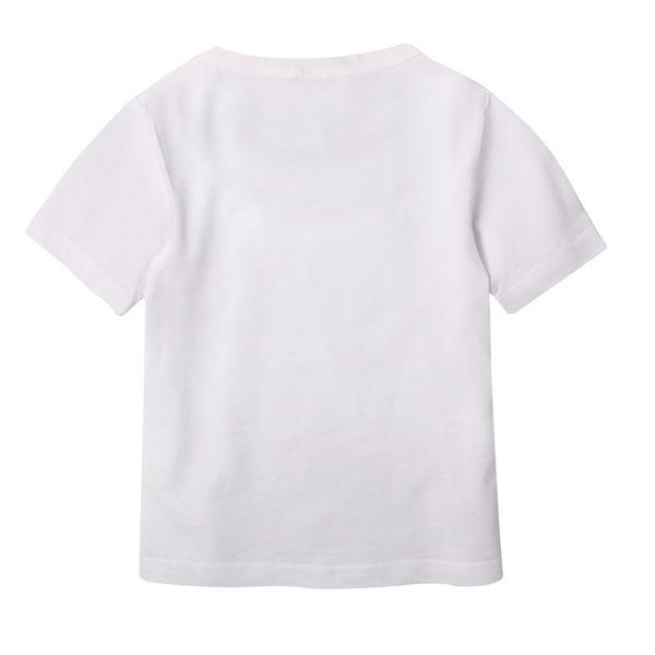 短袖圓領上衣 純棉 素色 男童 女童 兒童 T恤 圓領T 素面 百搭 Augelute 51081