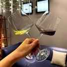 赫鳴高腳紅酒杯ins個性創意家用水晶波爾多4只裝網紅搖晃的勃艮第 智慧e家