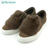 ★新品上市★【Bo Derek】絨毛驢耳休閒鞋-棕