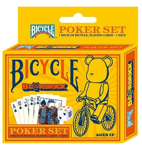 【USPCC撲克館】撲克牌BICYCLE Bear Brick含骰子