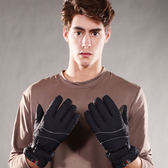 防風防水 可觸控 刷毛保暖手套 男/女組合(2雙一組)