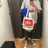 日本雜志附送手提肩背斜背包簡約男女托特包可調節背帶ins同款