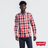 Levis 格紋襯衫 男裝 / 單口袋