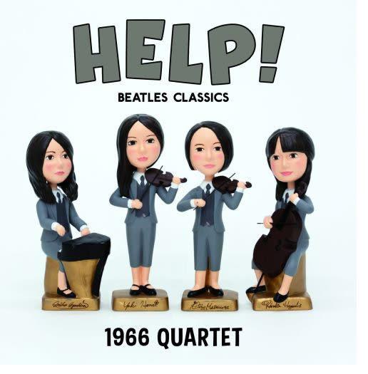 1966四重奏 向披頭四致敬 CD  HELP BEATLES CLASSICS   (購潮8)