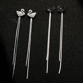 特賣耳環流蘇耳環潮女長款氣質純銀簡約耳釘網紅耳夾無耳洞耳飾品