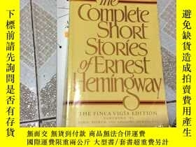二手書博民逛書店The罕見Complete Short Stories of E