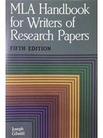 二手書博民逛書店 《MLA handbook for writers of research papers》 R2Y ISBN:9575868722│JosephGibaldi