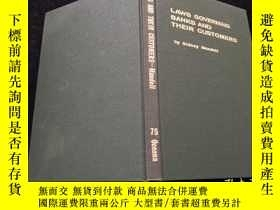 二手書博民逛書店laws罕見Governing banks and their