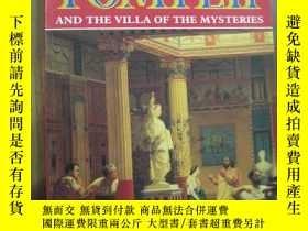 二手書博民逛書店POMPTII罕見AND THE VILLA OF THE MYSTERIESY10980 POMPTII A