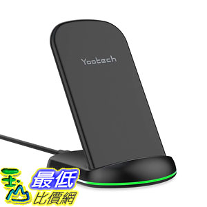 [8美國直購] 無線充電器 Yootech Fast Wireless Charger 10W Qi-Certified Wireless Charging Stand,7.5W