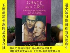 二手書博民逛書店【英文原版】《Grace罕見and Grit》(超越死亡:恩寵與