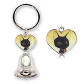 【貓粉選物】貓粉鑰匙圈 愛心黑貓+賭城中獎鐘 好運加倍