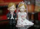 一定要幸福哦~~西式新人(M款)安床娃娃、喝茶禮、吃茶禮、婚俗用品
