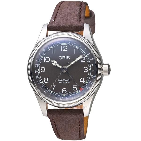 Oris豪利時BIG CROWN摩登飛行手錶 75477494064-0751767