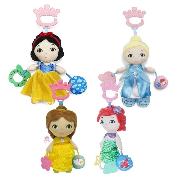美國 Kids Preferred 安撫床掛玩偶-公主款(4款可選)固齒器|推車玩具|汽座玩具|安撫玩具
