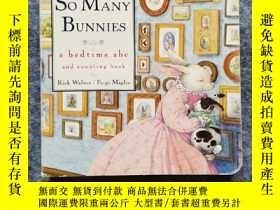 二手書博民逛書店So罕見Many Bunnies Board Book : A Bedtime ABC and Counting