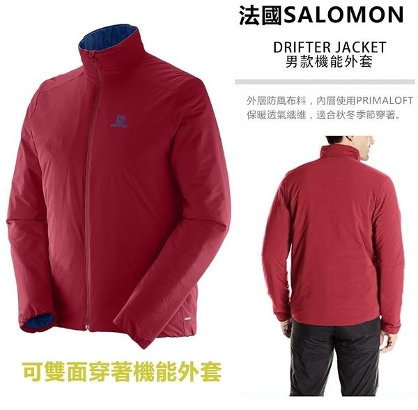 [法國Salomon] Drifter Jacket 男外套 - 勝利紅 (376683)
