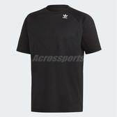 adidas 短袖T恤 PT3 TEE 黑 白 男款 拼接 正常版型 三葉草 【ACS】 DV1961