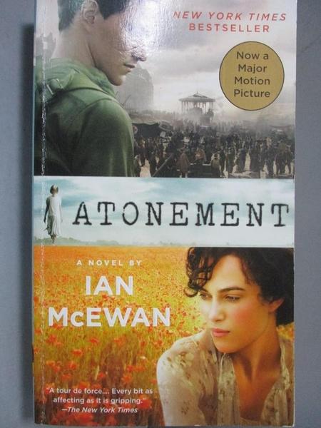 【書寶二手書T4/原文小說_NQU】Atonement_McEwan
