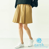 ❖ Must Buy ❖ 鬆緊腰素面迷你短裙 - earth music&ecology