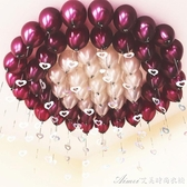 結婚婚禮用品婚慶婚房裝飾現場佈置浪漫求婚鋁膜心形氣球創意套餐 艾美時尚衣櫥