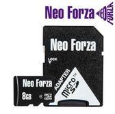 【超人生活百貨】NEO FORZA 8GB microSDHC class 4 記憶卡 防水 5年保固