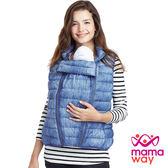 【mamaway媽媽餵】羽絨親子兩用輕羽絨背心(共2色)  孕婦裝 親子背心