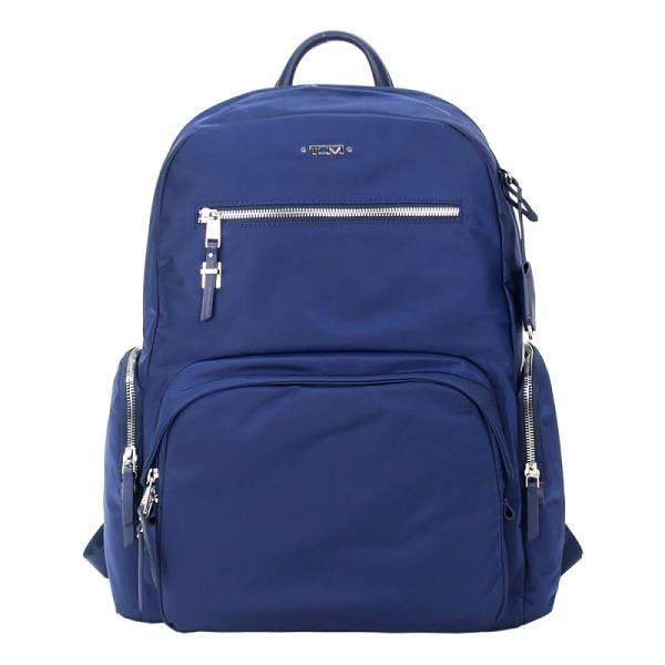 【南紡購物中心】TUMI  VOYAGEUR CARSON尼龍後背包(適用15吋筆電)-午夜藍