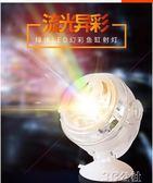魚缸LED燈 圓形魚缸燈管射燈照明燈led燈夜燈防水水底潛水七彩夜間小燈小型 3C公社