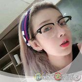 閃亮 復古半框平光眼鏡~050754 ~韓飾代~HandStyle ~附眼鏡盒