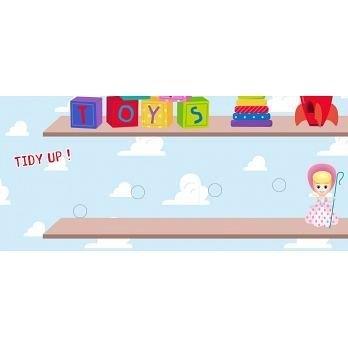 【東雨】撕下黏上,空間邏輯 (玩具總動員系列)魔鬼氈遊戲貼片 厚紙板硬頁書